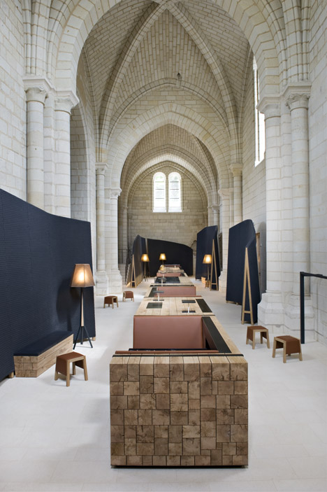 Agence Jouin Manku transforms Saint-Lazare priory into modern hotel and restaurant 01