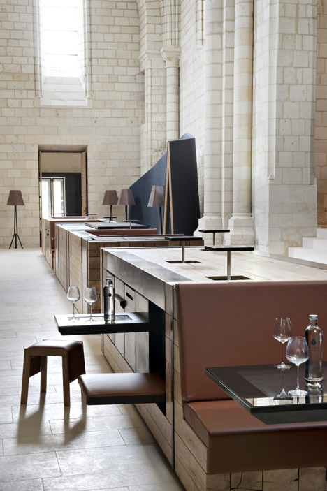 Agence Jouin Manku transforms Saint-Lazare priory into modern hotel and restaurant 02
