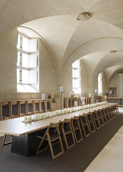 Agence Jouin Manku transforms Saint-Lazare priory into modern hotel and restaurant  05