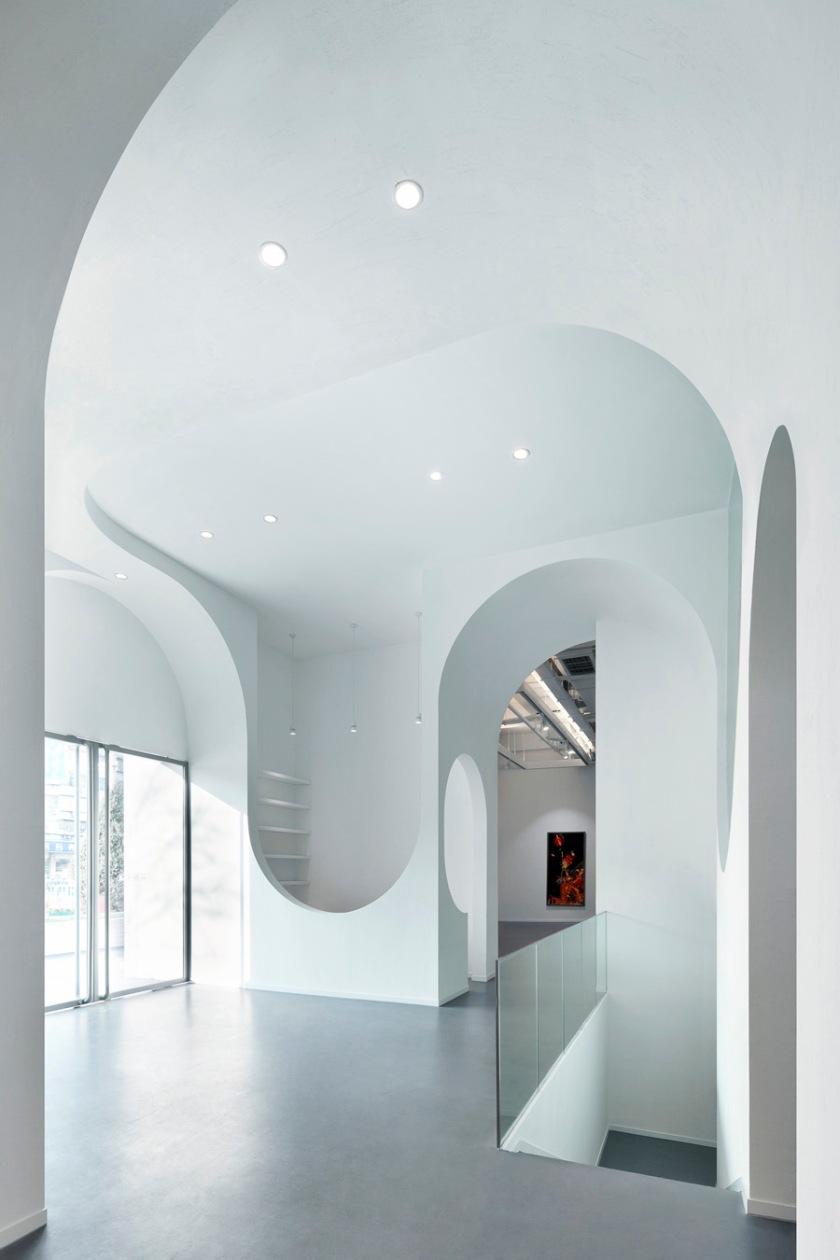 Hongkun Art Gallery : Art Arcadion by Penda, Beijing